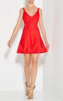 Herve Leger Suzanna Novelty Essentials Dress