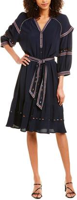 BA&SH Patty Midi Dress