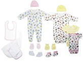 Bambini Newborn Baby Shower Layette Gift Set, 11pc (Baby Girls)