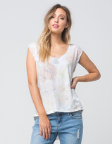 Free People Gardenia Womens Tee