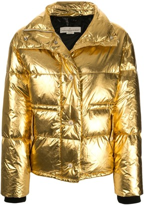 Golden Goose Yuri metallic coat