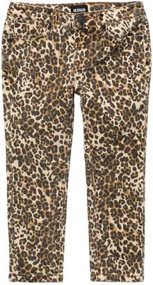 Hudson Jungle Animal Print Skinny Jeans