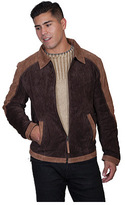 Scully Men's Two-Tone Suede Jacket 911