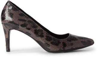 Calvin Klein Dark Grey Nilly Leopard Pumps
