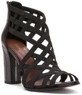 Donald J Pliner Women's KARRI - Basic Elastic and Watersnake Heeled Sandal