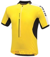 Dare 2b Bright Yellow Astir Cycle Jersey