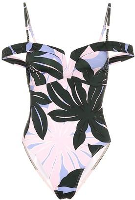 Alexandra Miro Lola printed swimsuit