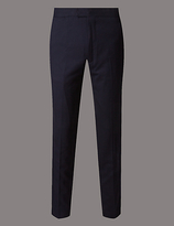 Autograph Flat Front Slim Fit Chinos