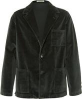 Massimo Alba - Baglietto Cotton-velvet Jacket