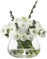 LSA International Flower Texture Table Arrangement Vase 11.5cm T