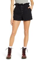Thumbnail for your product : STS Blue Hayley High Waist Paperbag Denim Shorts