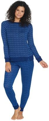 Carole Hochman Petite Marshmallow Jersey Pajama Set