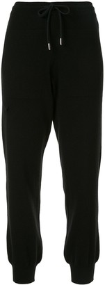 Barrie drawstring track trousers