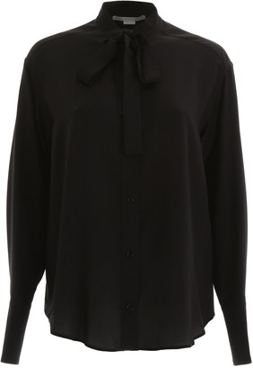 Stella McCartney Pussy-Bow Blouse