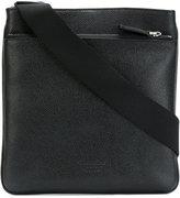 Giorgio Armani messenger bag - men - Cotton/Calf Leather/Polyester - One Size