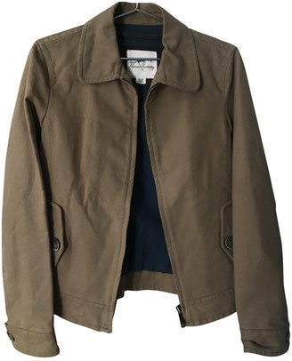 Burberry Brown Cotton Leather jackets