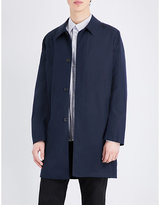 Ps By Paul Smith Single-breasted Cotton-blend Coat