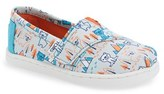 Toms Infant Girl's 'Classic - Bears' Slip-On