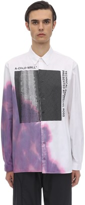 A-Cold-Wall* Printed Graphic Cotton Shirt