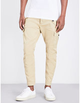 Dsquared2 Regular-fit Tapered Stretch-cotton Cargo Trousers