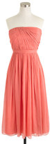 J.Crew Mindy dress in silk chiffon