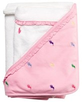 Ralph Lauren Pink Towel with Embroidered Pony