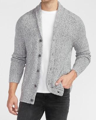 Express Marled Knit Cardigan