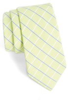Nordstrom Men's Grid Cotton & Silk Tie