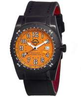 Shield Nuno Leather-band Diver's Watch.