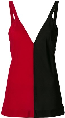Haider Ackermann Colour Blocked Camisole