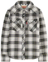 Levi's Checked shirt with lurex