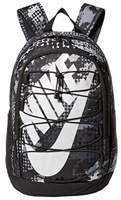 Nike Hayward 2.0 All Over Print (Black/Black/Light Smoke Grey) Backpack Bags