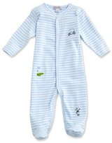 Kissy Kissy Mini Golf Striped Footie Pajamas, Blue, Size Newborn-12 Months