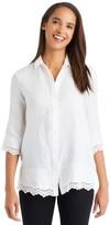 J.Mclaughlin Del Mar Linen Shirt