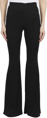 Balmain Black Flared Trousers