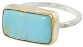 Emily Amey Rectangle Turquoise Ring