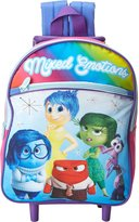 Disney Girls' Inside Out 12 Inch Rolling Backpack