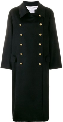Christian Dior Pre-Owned Cashmere Double-Breasted Coat