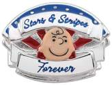 Persona Sterling Silver Stars & Stripes Charm Peanuts Collection H15131P1