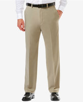 Haggar Men's Cool 18® PRO Classic-Fit Flat-Front Expandable Waist Pants