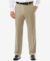 Haggar Men's Haggarandreg; Cool 18andreg; PRO Classic-Fit Flat-Front Expandable Waist Pants