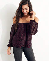 Hollister Lace Off-The-Shoulder Top