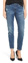 Women's Caslon Distressed Boyfriend Jeans