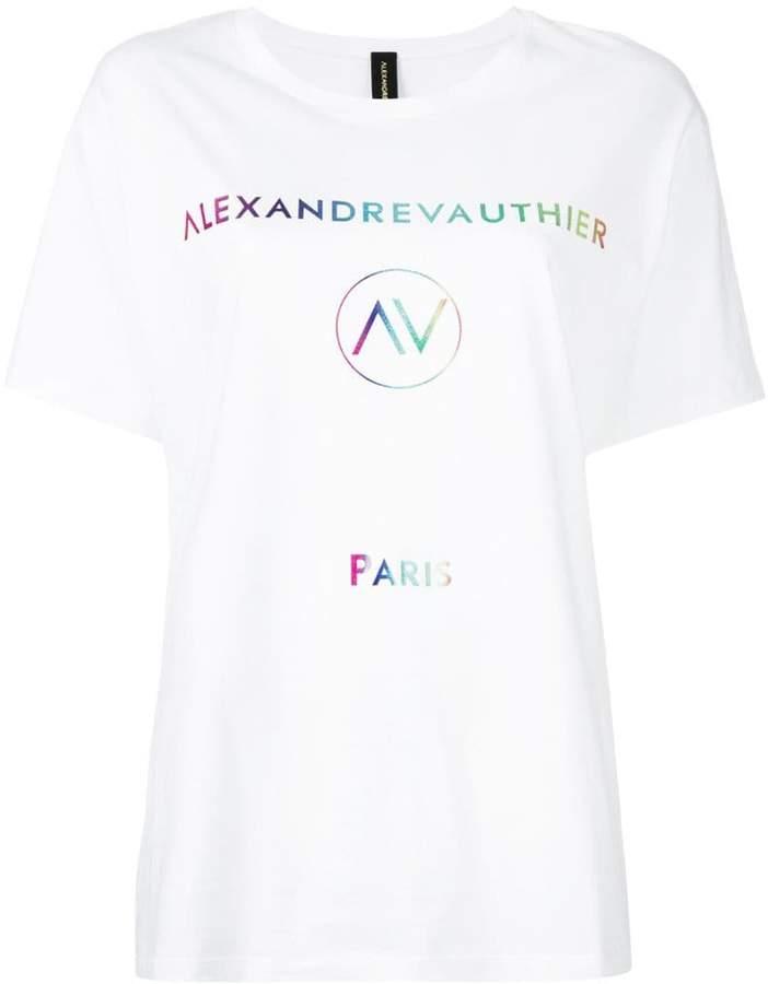 Alexandre Vauthier logo T-shirt