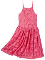 Ella Moss Bria Sleeveless Lace Dress (BIg Girls)