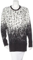 Helmut Lang Printed Crew Neck Sweater