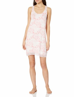 Mae Amazon Brand Women's Sleepwear Racerback Chemise Nightgown