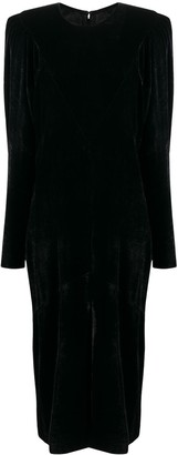 Isabel Marant Structured Shoulder Dress