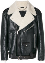 Marc Jacobs shearling lined jacket