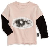 Nununu Infant Girl's Eye Patch Graphic Tee